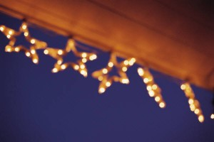 How to Hang Christmas Lights with Gutter Guard