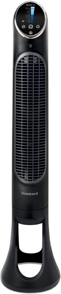 Honeywell QuietSet Whole Room Tower Fan Black
