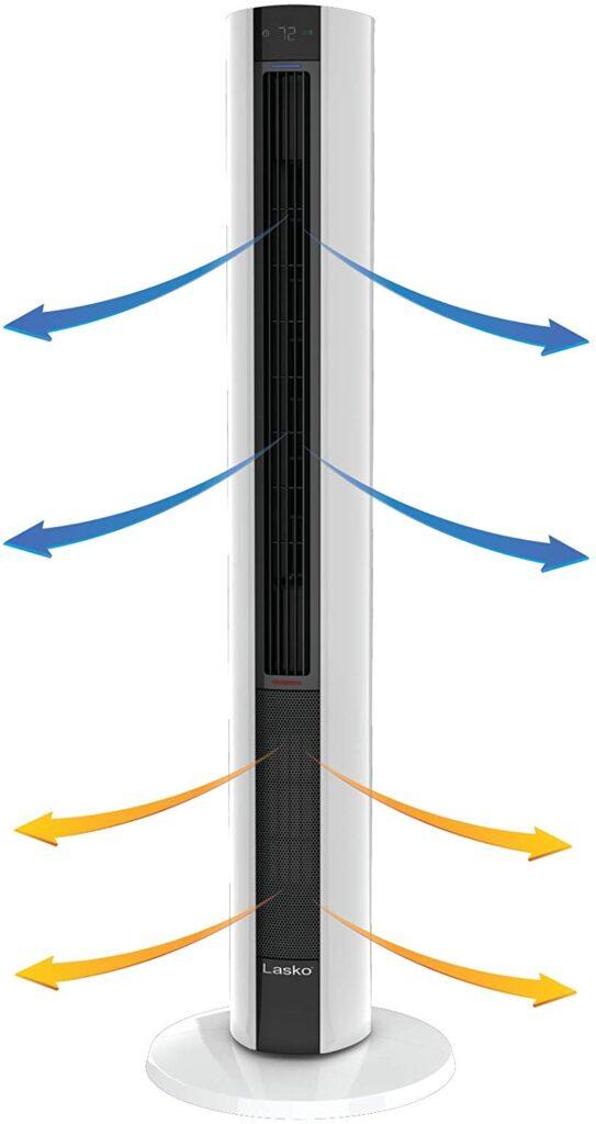 Lasko FH500 Fan Space Heater Combo Tower