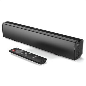 Majority Bowfell Small Sound Bar For TV With Bluetooth