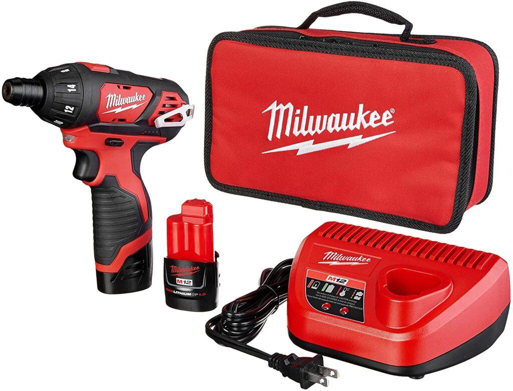 Milwaukee M12 2401 22 Hex Screwdriver Kit
