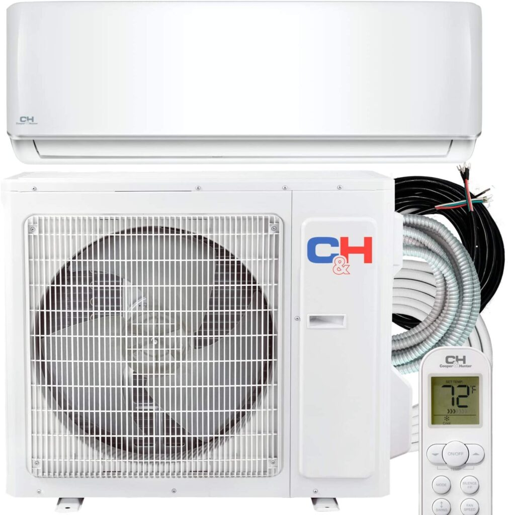 36000 BTU Heating And Cooling Ductless Mini Split Air Conditioner