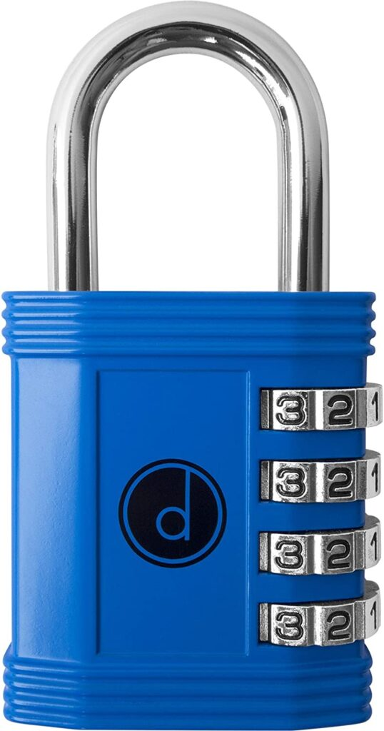 4 Digit Combination Padlock By Desired Tools