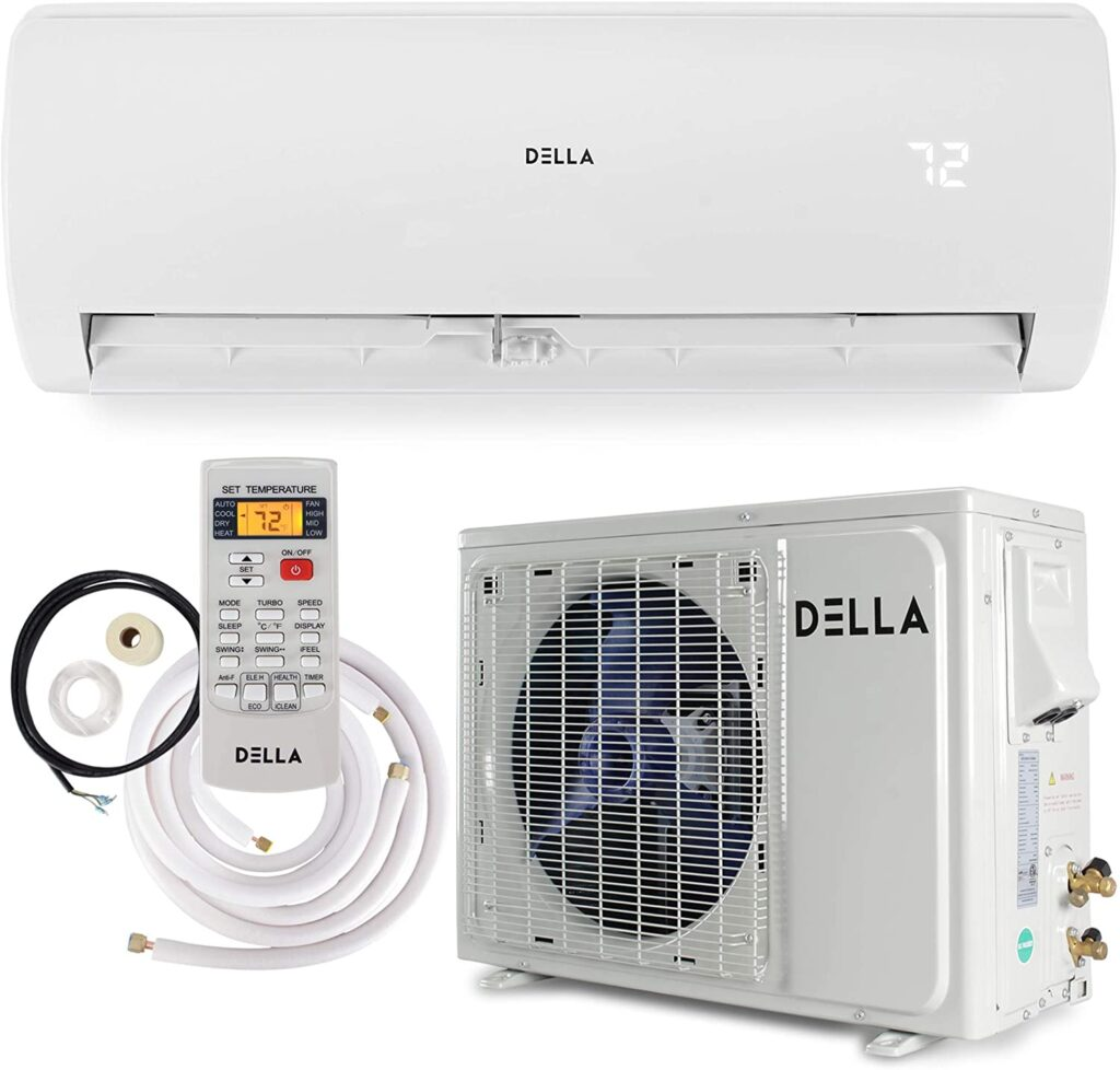 Della 12000 BTU Mini Split Air Conditioner