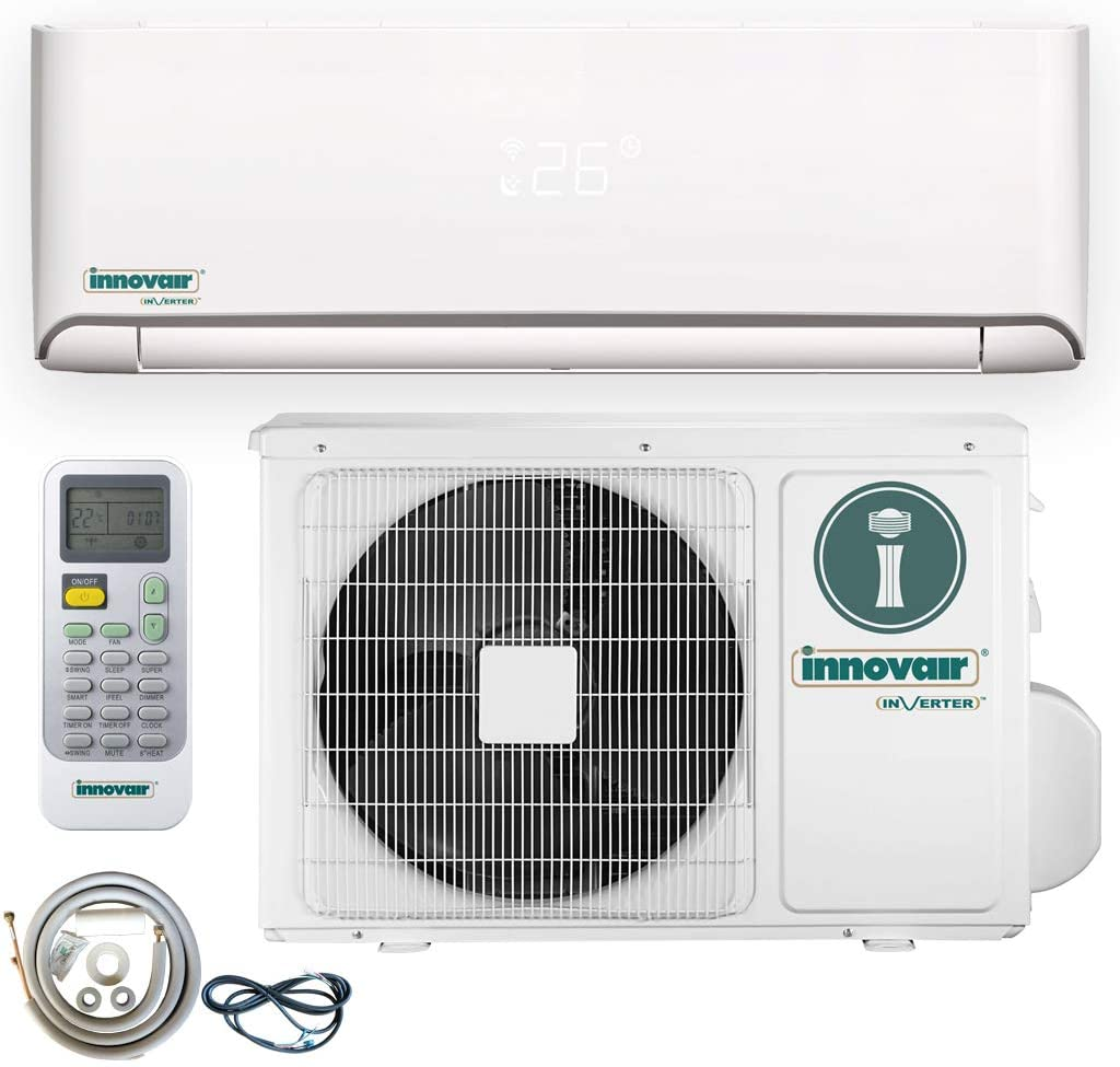 Innovair Air Conditioner Inverter Ductless Wall Mount Mini Split System