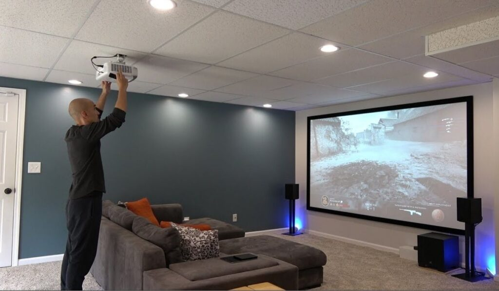 Mounting Height Of Projector