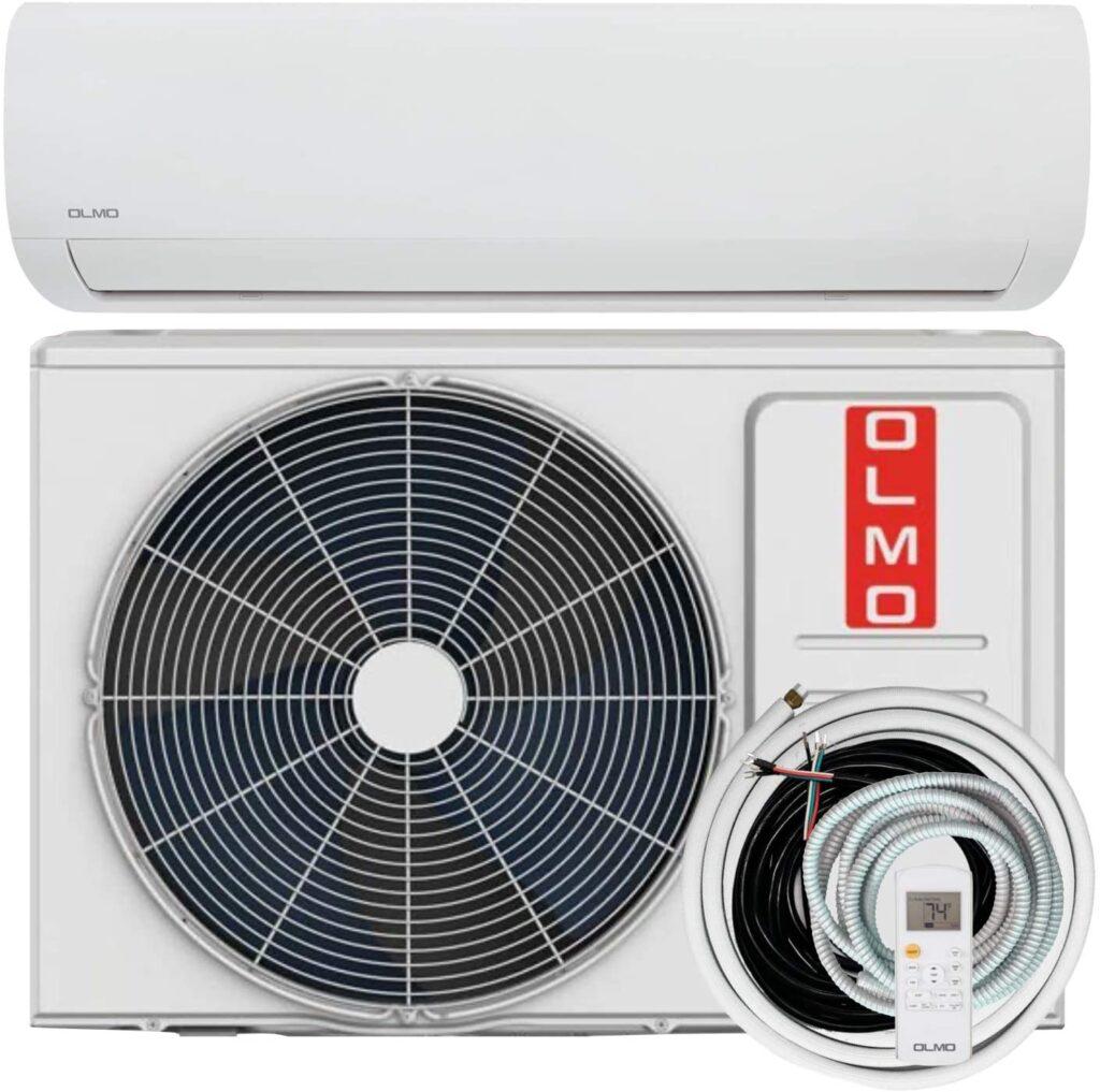 OLMO Alpic 9000 BTU 110 120V Ductless Mini Split AC